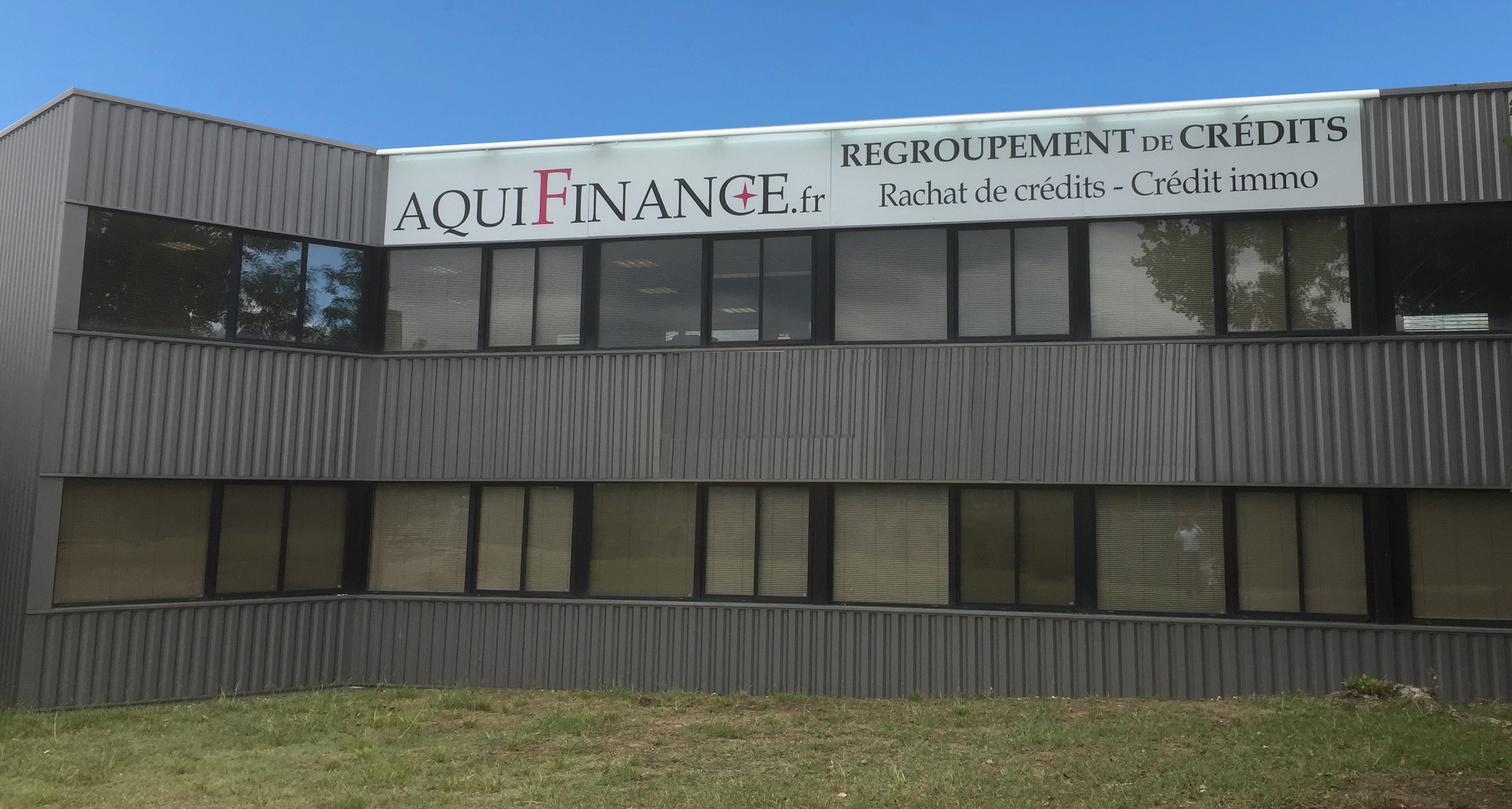 siège social d?Aquifinance, expert en Rachat de crédits à Bordeaux